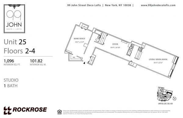 99 John Deco Lofts Street Apt 325