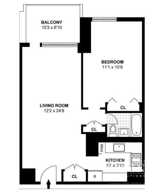 Southbridge Apartments: Southbridge Towers, 299 Pearl Street, Unit 5E