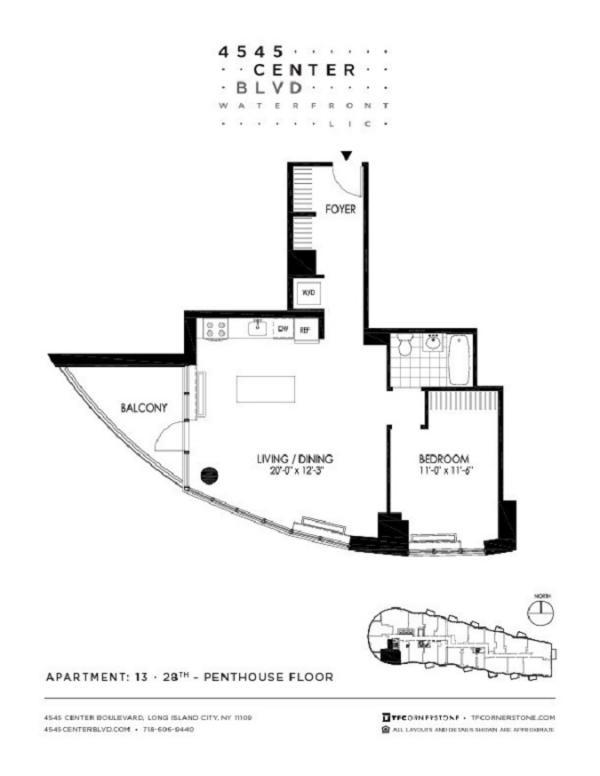 4545 Center Boulevard Unit 2813