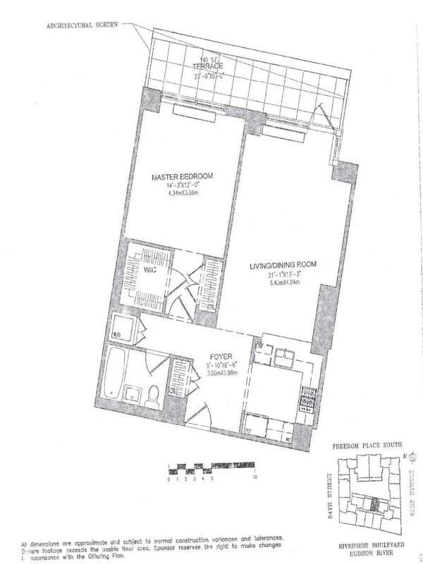 The Rushmore 80 Riverside Boulevard Unit 3w
