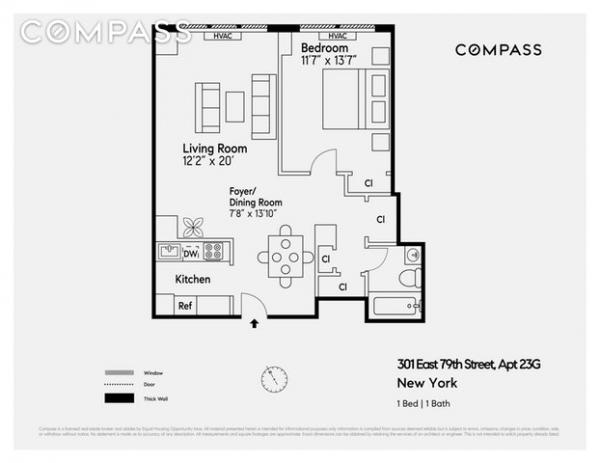 Continental Towers 301 East 79th Street Unit 23g