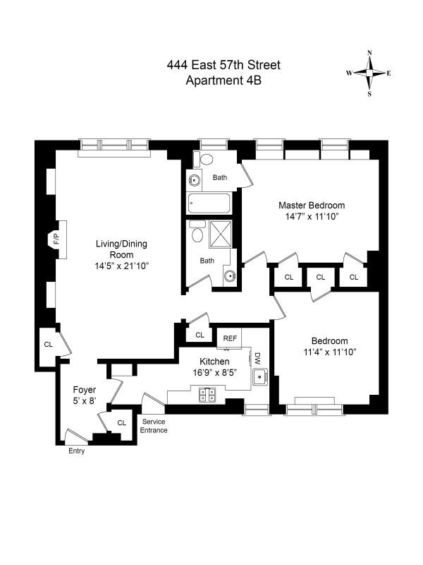 444 East 57th Street Unit 4b
